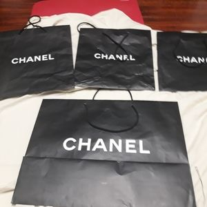 4 Authentic chanel shopping bag